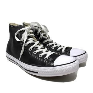 Converse All Star Leather Hi High Top Sneakers